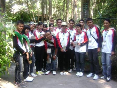 Finalis DLH di tempat Rehabilitasi orang utan Nyarumenteng, Palangkaraya, Kalimantan Tengah